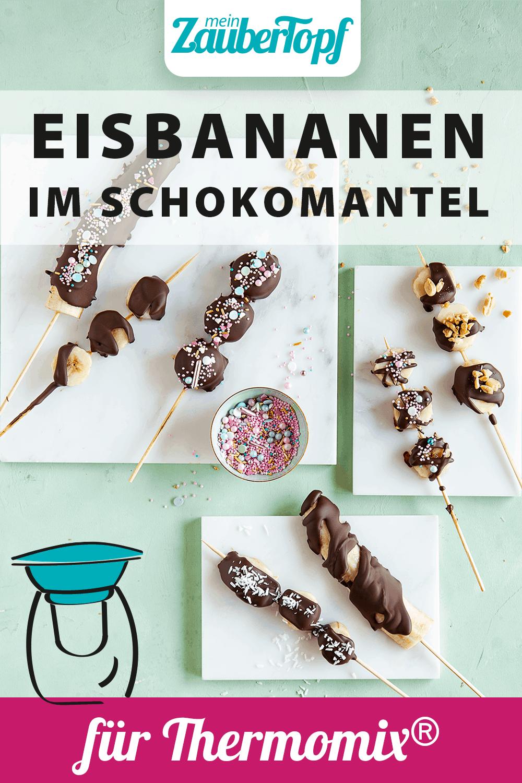 Eis-Bananen im Schokomantel mit dem Thermomix® –Foto: Anna Gieseler