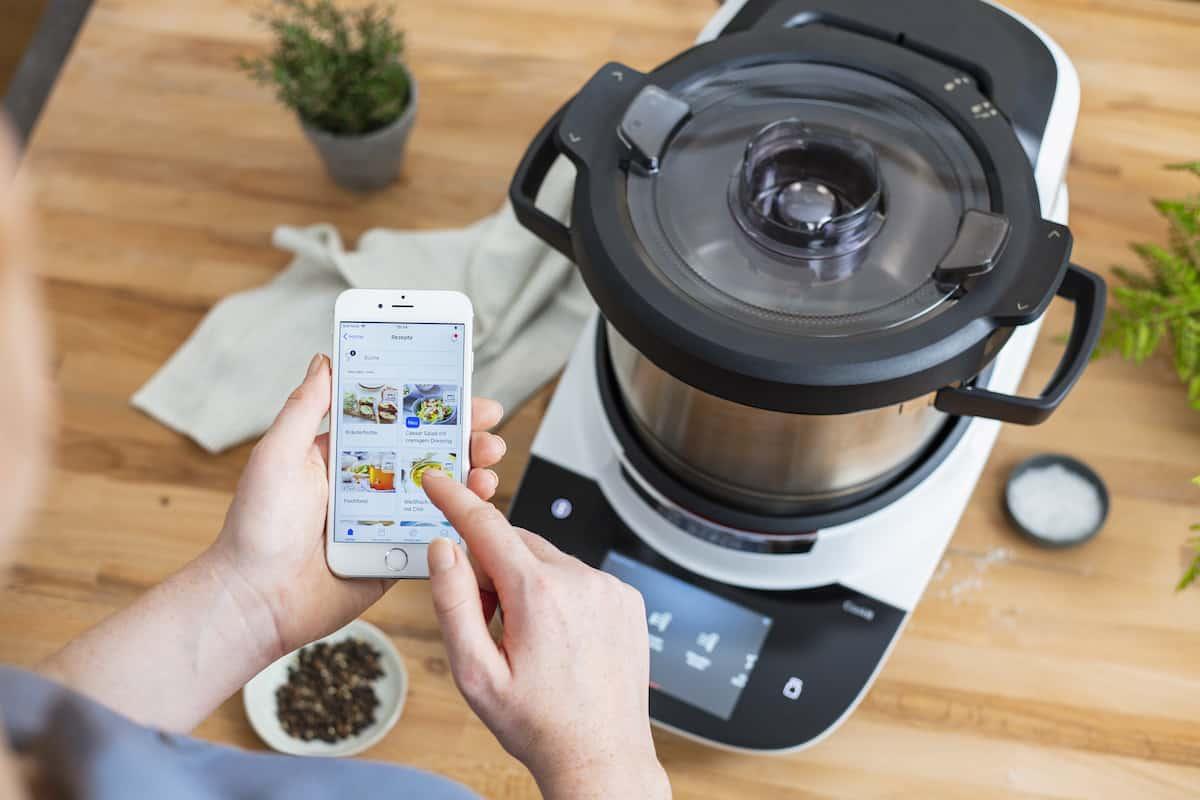 Home Connect App und der Bosch Cookit