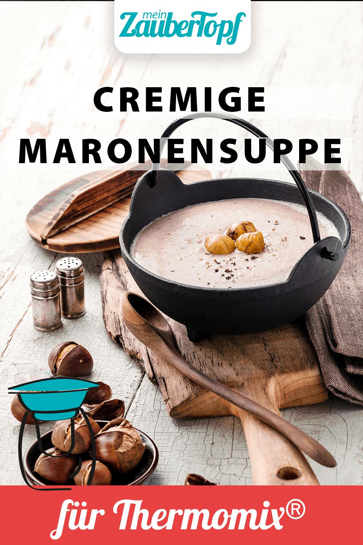 Cremige Maronensuppe mit dem Thermomix® – Foto: Shutterstock