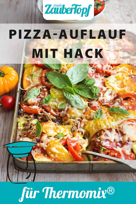 Pizza-Auflauf mit Kartoffeln und Hack mit dem Thermomix® - Foto: Ira Leoni