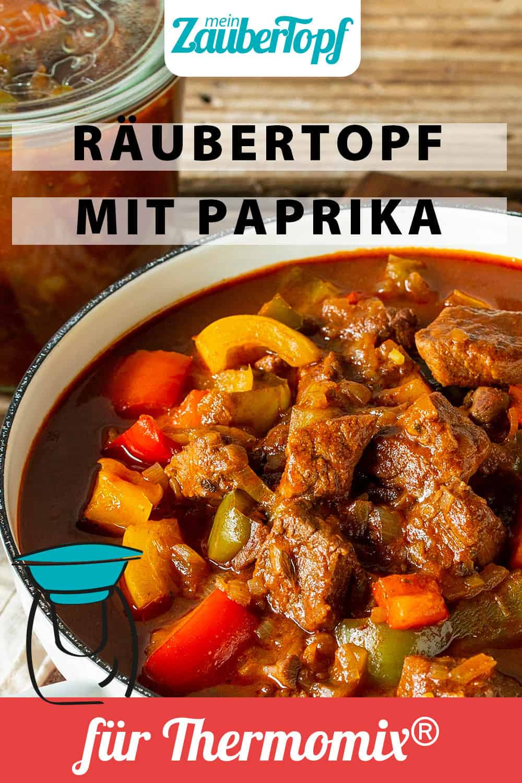 Räubertopf mit Paprika – Foto: Kathrin Knoll