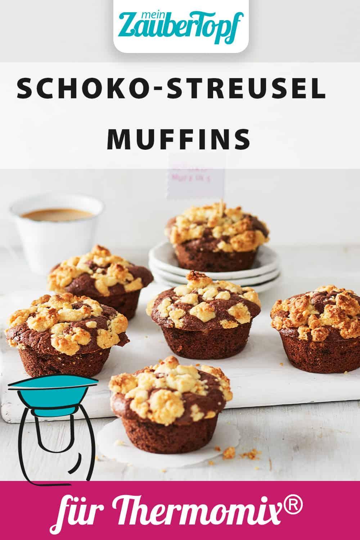 Schoko-Streusel-Muffins aus dem Thermomix® - Foto: Foto: Jorma Gottwald