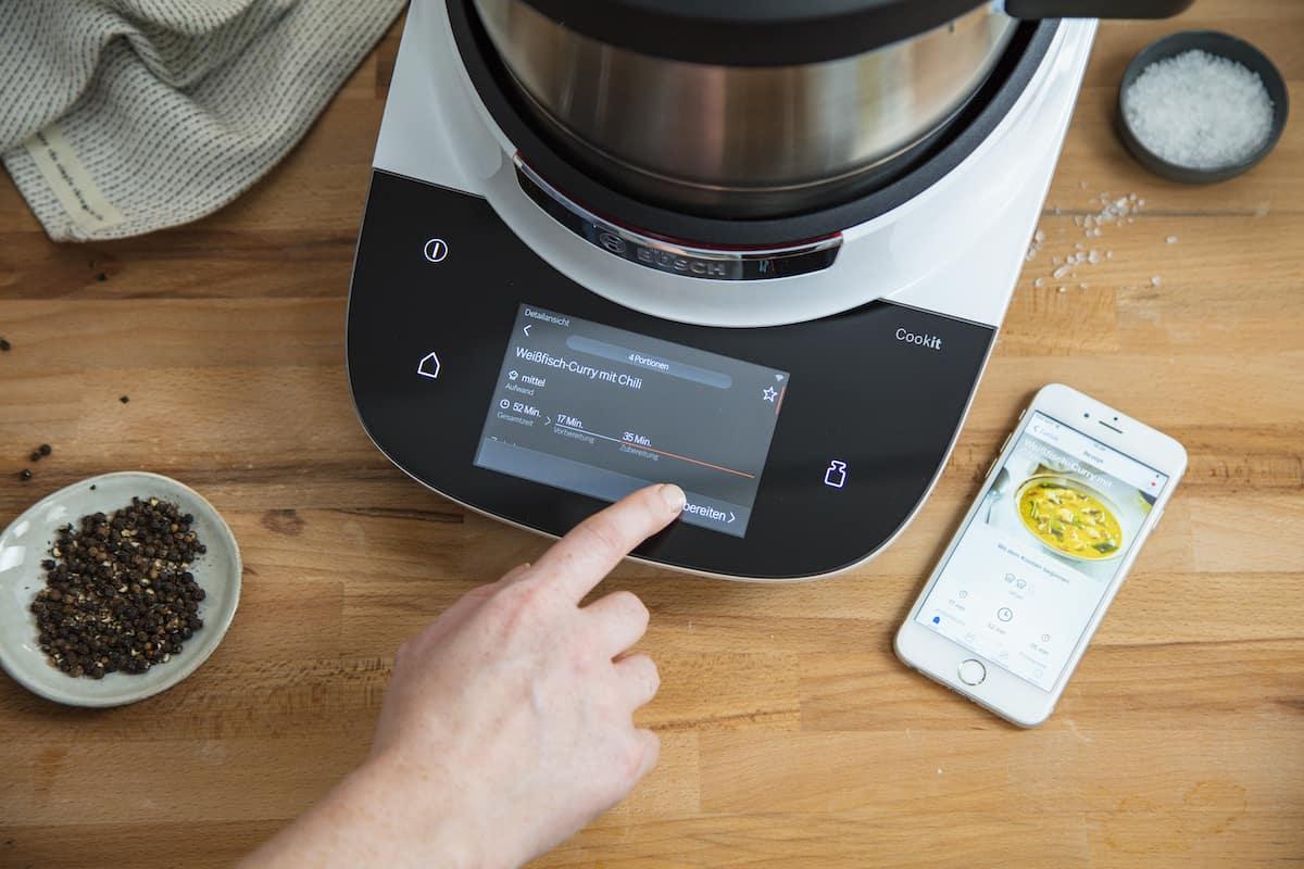 Bosch Cookit, smart Kochen mit der Home Connect App
