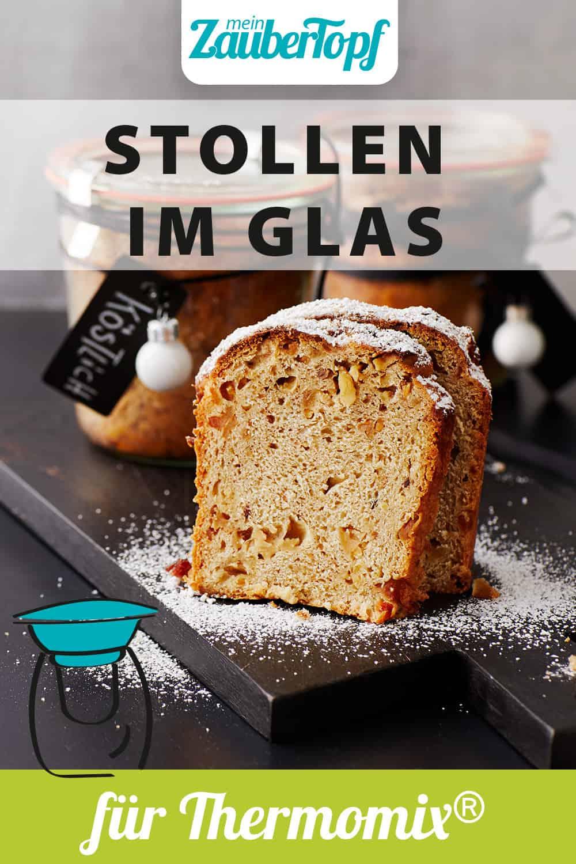 Kleine Stollen im Glas mit dem Thermomix® - Foto: Foto: Jorma Gottwald