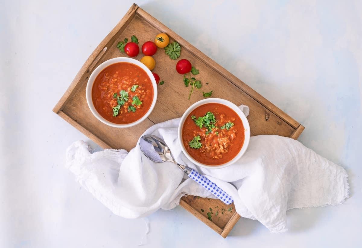 Tomatensuppe mit dem Monsieur Cuisine – Foto: Tina Bumann
