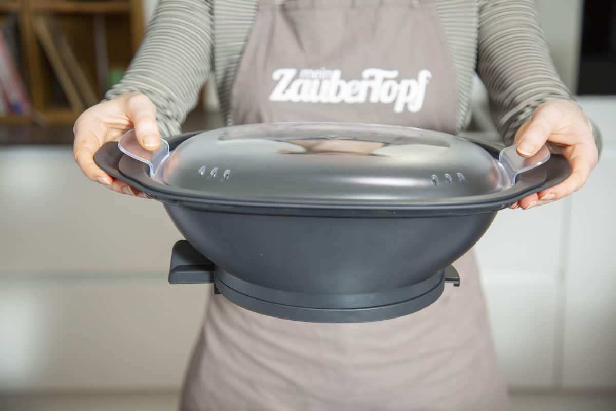 Der Dampfgaraufsatz des Monsieur Cuisine – Foto: Kathrin Knoll