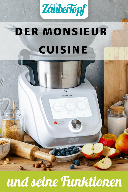 Der Monsieur Cuisine und seine Funktionen –Foto: Kathrin Knoll