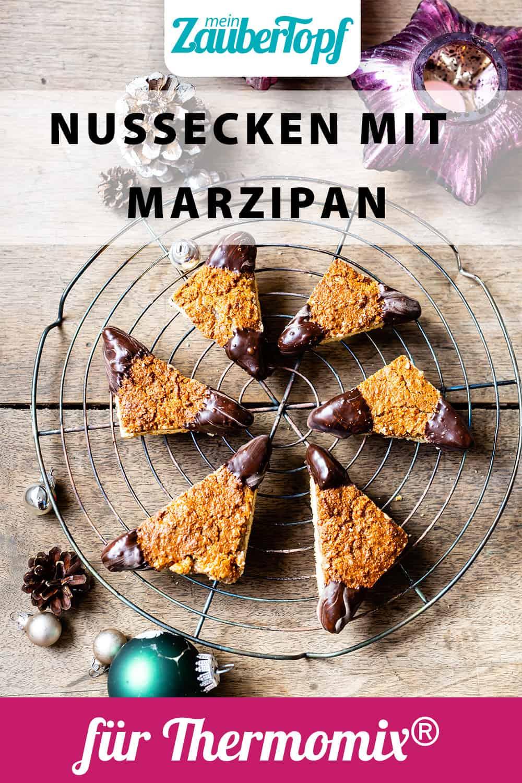 Nussecken mit Marzipan mit dem Thermomix® - Foto: Sophia Handschuh
