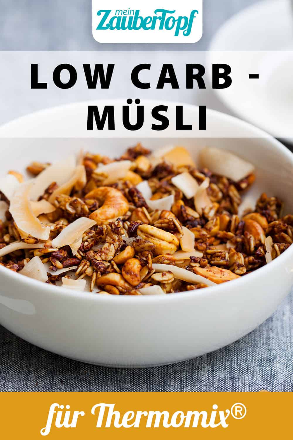 Low Carb Müsli aus dem Thermomix® - Foto: gettyimages / AnnaPustynnikova