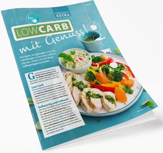 Low Carb Rezepte E-Book erhalten