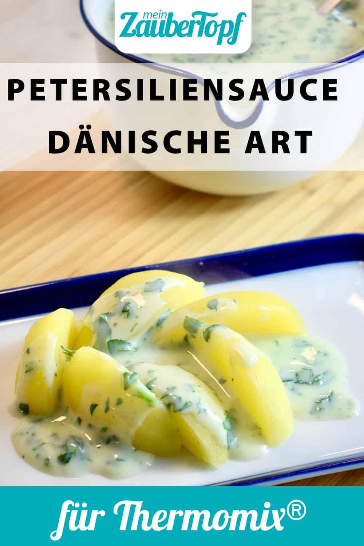 Petersiliensoße nach dänischer Art aus dem Thermomix® - Foto: Nicole Schmidt