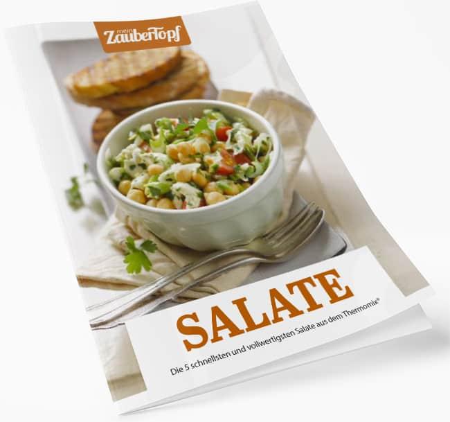 Die 5 schnellsten und vollwertigsten Salate aus dem Thermomix® kostenlos sichern