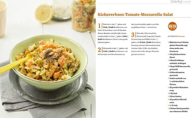 Die 5 schnellsten und vollwertigsten Salate aus dem Thermomix® gratis E-Book