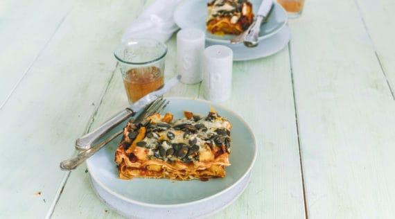 Kürbis-Lasagne mit dem Thermomix® –Foto: Tina Bumann