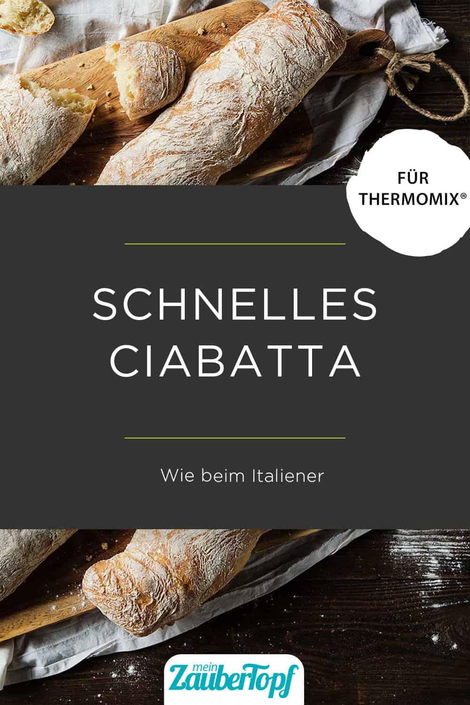 Ciabatta mit dem Thermomix® –Foto: Anna Gieseler