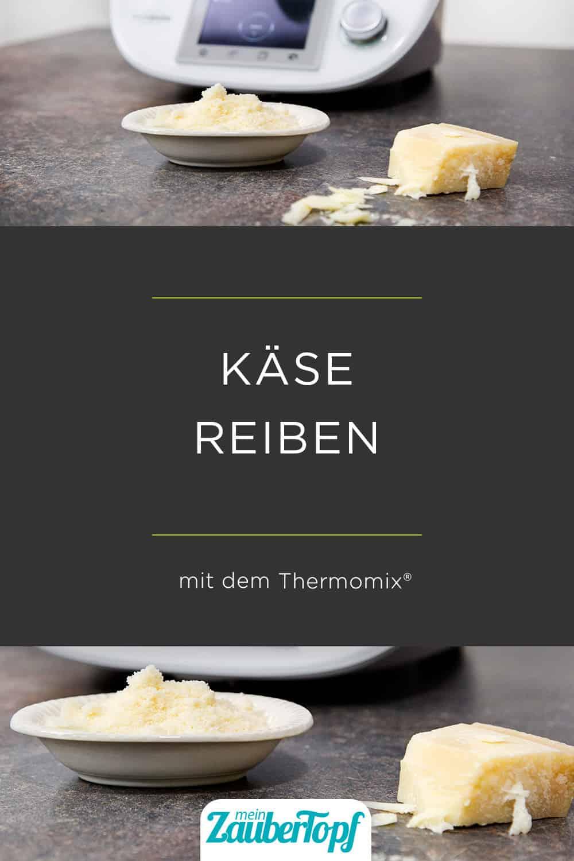 Geriebener Käse aus dem Thermomix® - Foto: Falkemedia