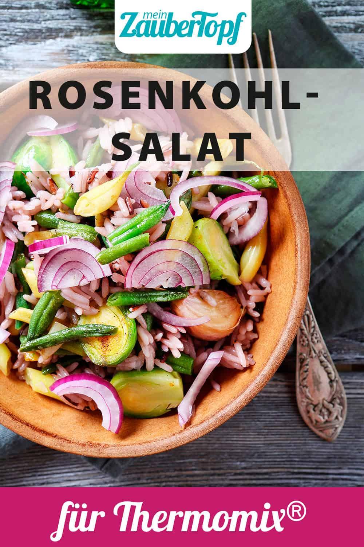 Rosenkohlsalat mit Reis & Bohnen aus dem Thermomix® - Foto: Olha Afanasieva/Shutterstock.com