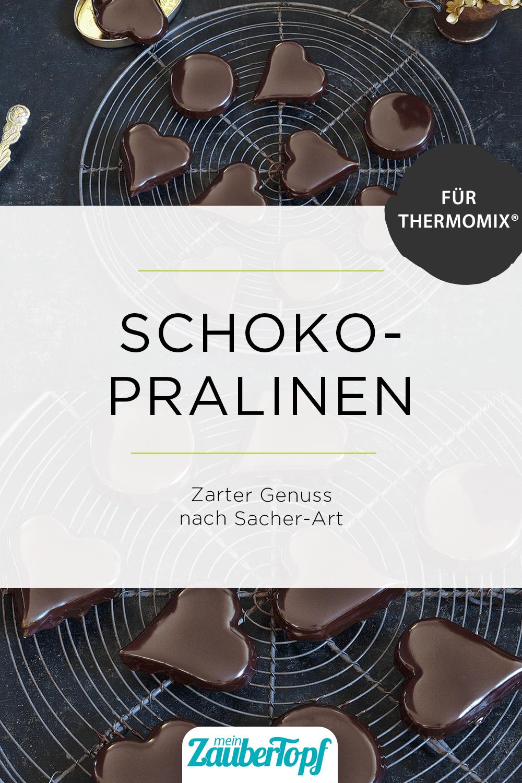 Schoko-Pralinen nach Sacher-Art mit dem Thermomix® - Foto: Frauke Antholz