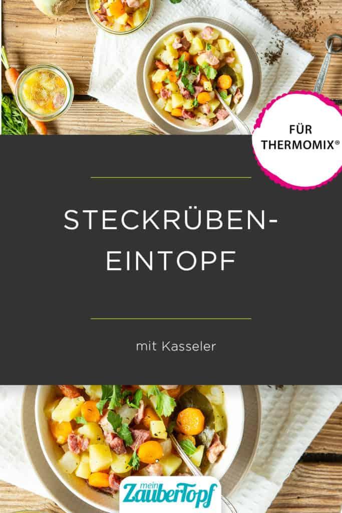 Steckrübeneintopf mit dem Thermomix® – Foto:  Kathrin Knoll