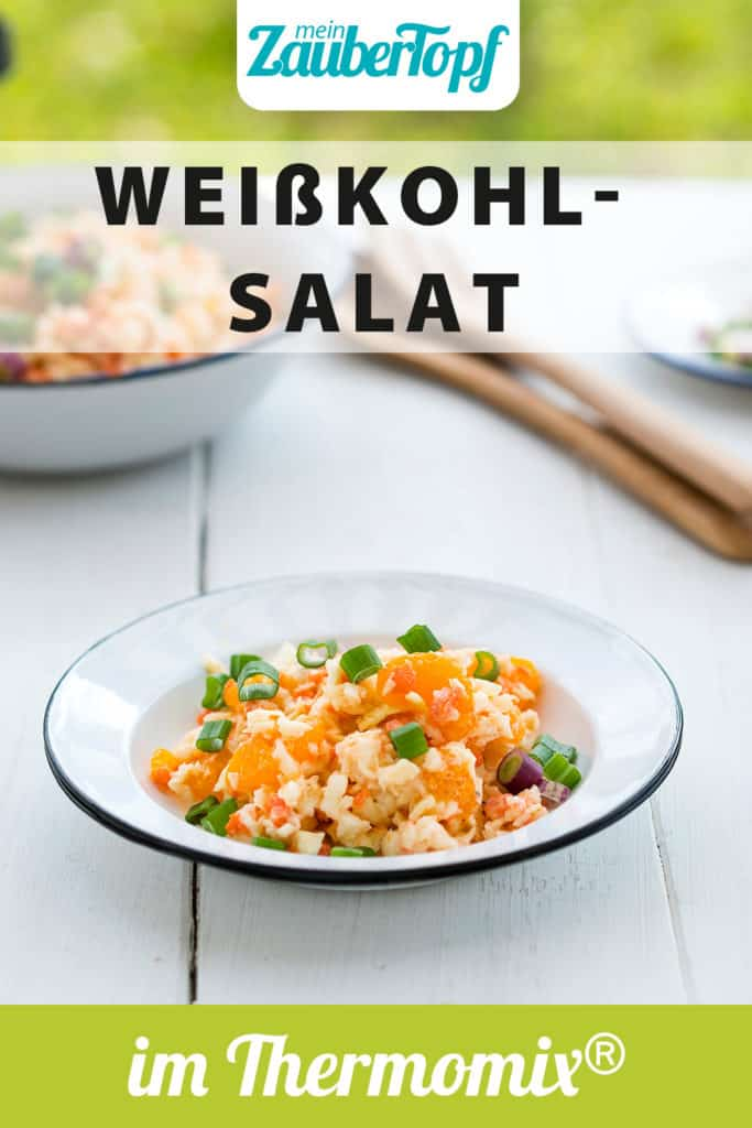 Weißkohlsalat mit dem Thermomix® – Foto: Tina Bumann