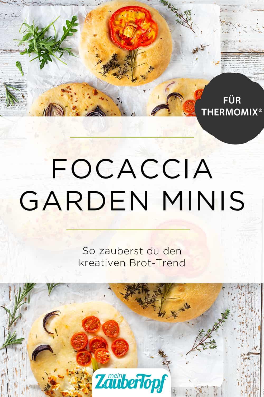 Focaccia Garden Minis mit dem Thermomix® – Foto: Kathrin Knoll