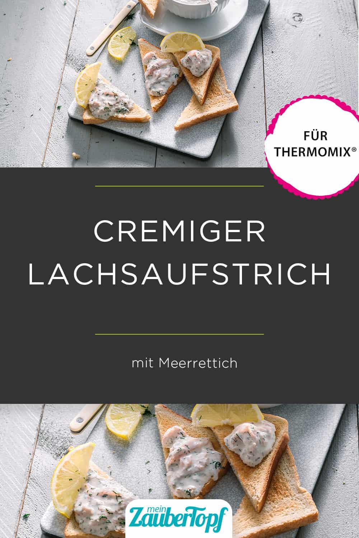 Lachsaufstrich mit Meerrettich aus dem Thermomix® - Foto: Tina Bumann