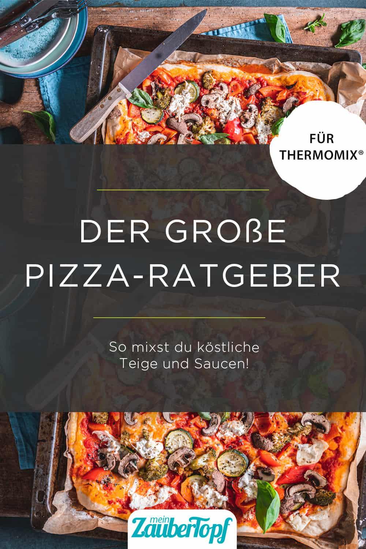 Pizza Ratgeber für den Thermomix® – Foto: Tina Bumann