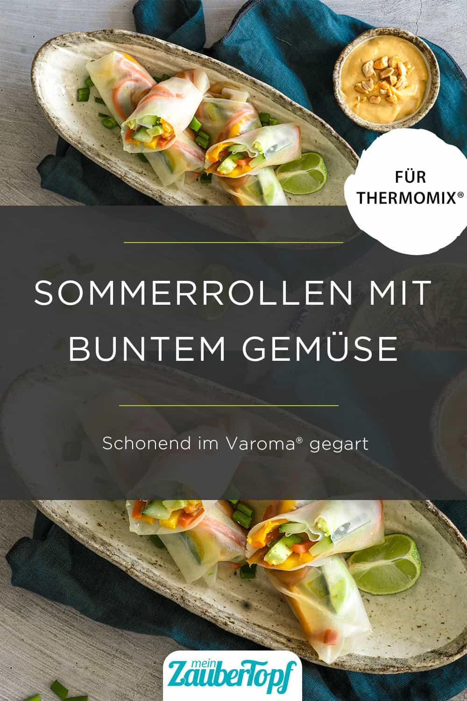 Sommerrollen mit bunten Gemüse mit dem Thermomix® - Foto: Tina Bumann