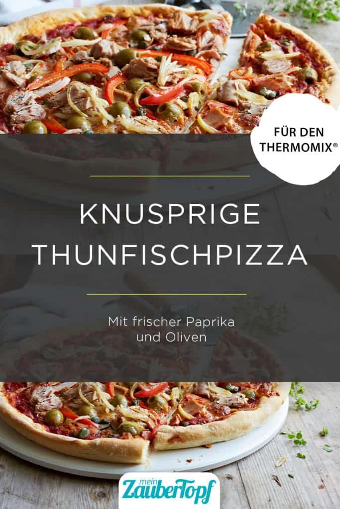 Thunfischpizza mit den Thermomix® – Foto: Nicky & Max