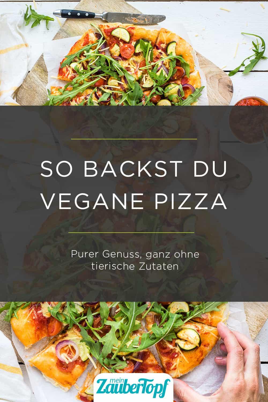 Vegane Pizza mit dem Thermomix® - Foto: Désirée Peikert
