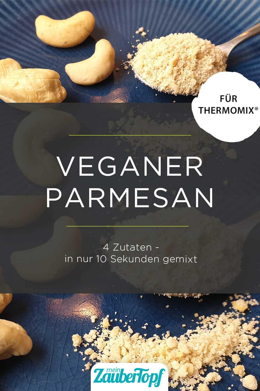 Veganer Parmesan mit dem Thermomix® –Foto: Nicole Schmidt