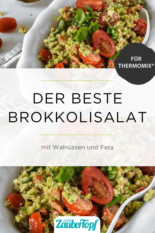 Brokkolisalat mit Feta und Walnüssen – Foto: Tina Bumann