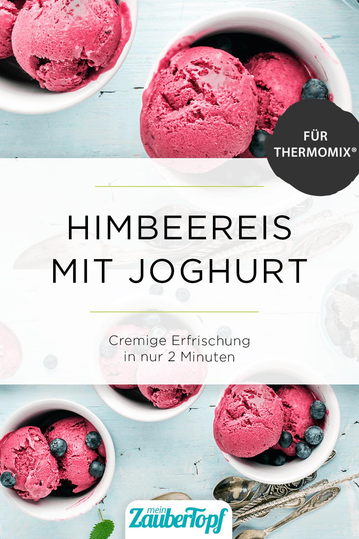 Himbeereis mit Joghurt aus dem Thermomix® - Foto: gettyimages.com/Foxys_forest_manufacture