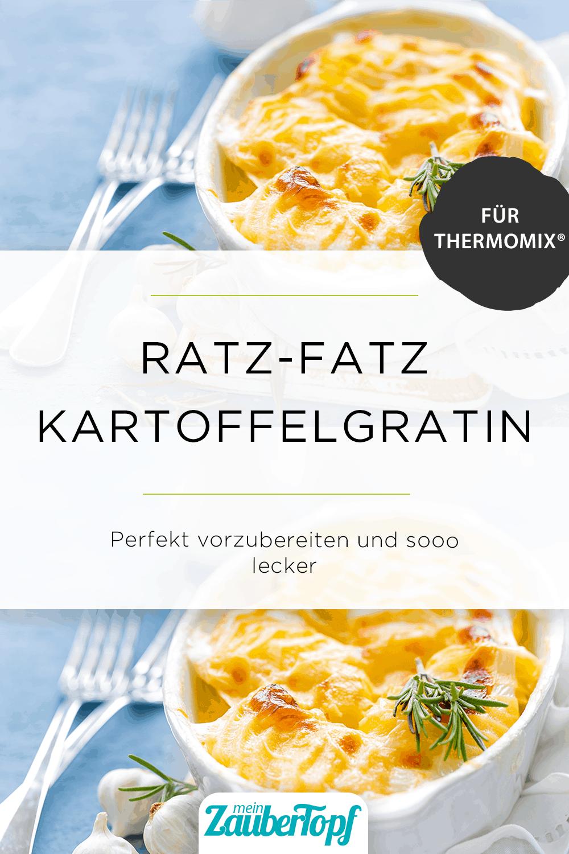 Ratz-Fatz Kartoffelgratin mit dem Thermomix® - Foto: YelenaYemchuk/gettyimages