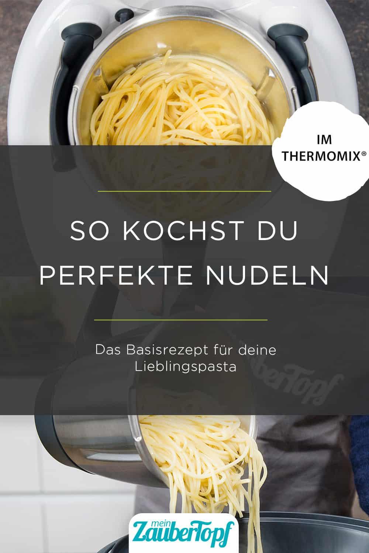 Nudeln kochen im Thermomix® - Foto: Anna Gieseler