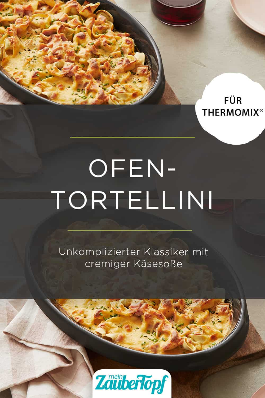Ofen-Tortellini in Käsesoße mit dem Thermomix® – Foto: Jorma Gottwald