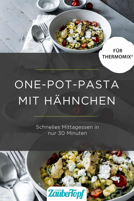One-Pot-Pasta aus dem Thermomix® –Foto: Tina Bumann