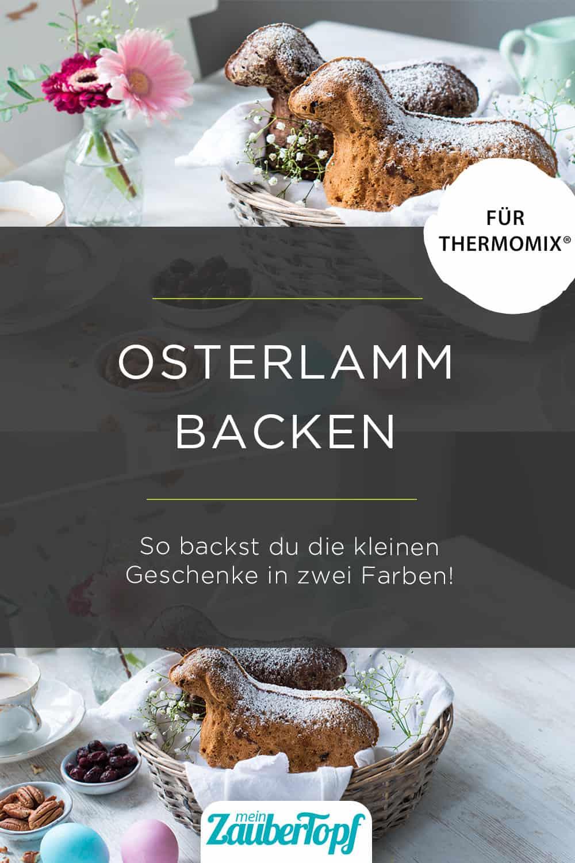 Osterlamm mit dem Thermomix® –Foto: Katharina Küllmer