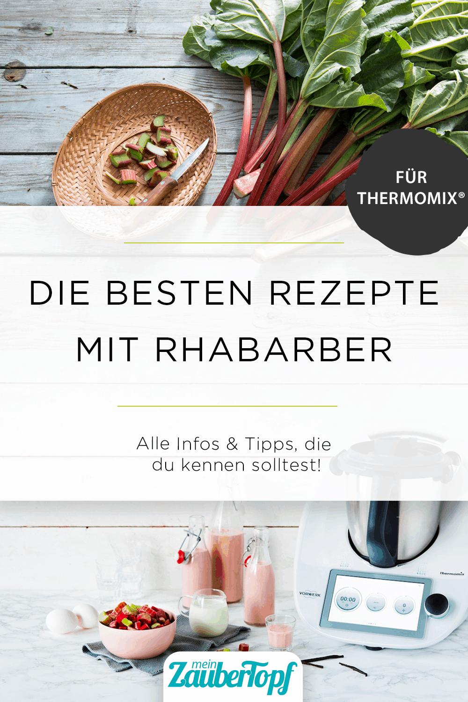 Die besten Rezepte mit Rhabarber für den Thermomix® - Foto: gettyimages / NataliaBulatova / Anna Gieseler