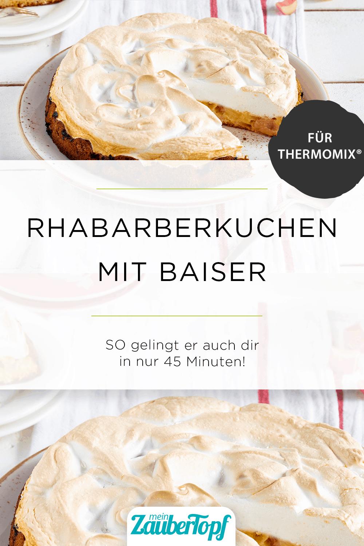 Rhabarberkuchen mit Baiser mit dem Thermomix® - Foto: Kathrin Knoll