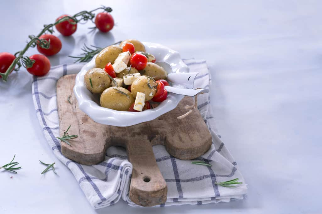 Rosmarin-Kartoffeln mit Feta aus dem Varoma® - Foto: Tina Bumann