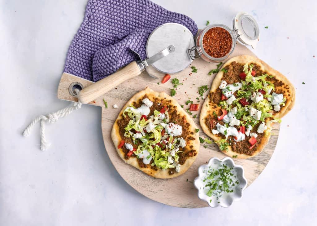 Türkische Pizza mit Hack mit dem Thermomix® – Foto: Tina Bumann