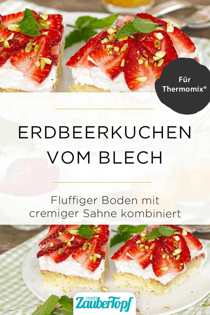 Erdbeerkuchen vom Blech mit dem Thermomix® - Foto: Frauke Antholz