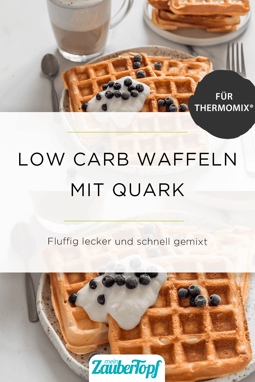 Low Carb Waffeln mit Quark mit dem Thermomix® –Foto: gettyimages |Fascinadora