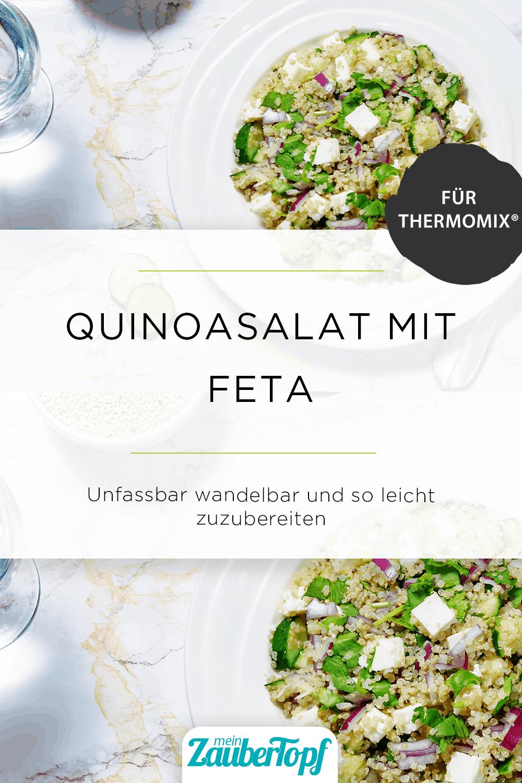 Quinoasalat mit Feta aus dem Thermomix® - Foto: gettyimages / nata_vkusidey