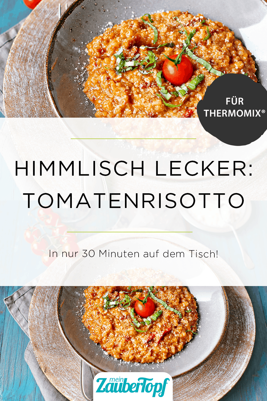 Cremiges Tomatenrisotto aus dem Thermomix® - Foto: Alexandra Panella
