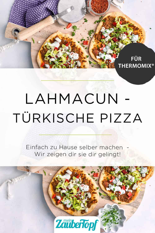 Türkische Pizza mit Hackfleisch mit dem Thermomix® - Foto: Tina Bumann