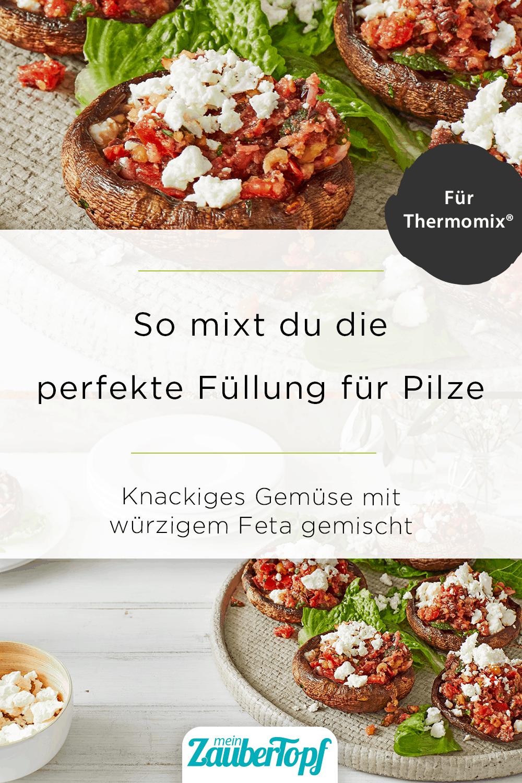 Gegrillte Pilze mit Feta mit dem Thermomix® - Foto: Jorma Gottwald