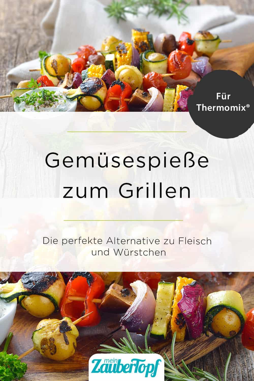 Gemüsespieße zum Grillen - Foto: gettyimages / kabVisio