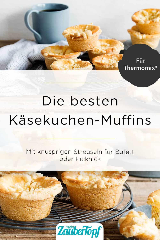 Käsekuchenmuffins mit Streuseln aus dem Thermomix® - Foto: Foto: Anna Gieseler